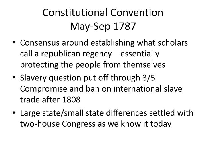 constitutional convention essay questions