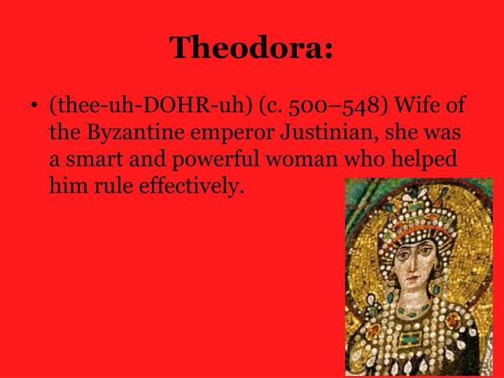 Theodora: