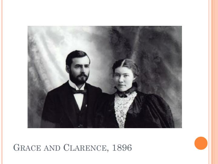 Grace and Clarence, 1896