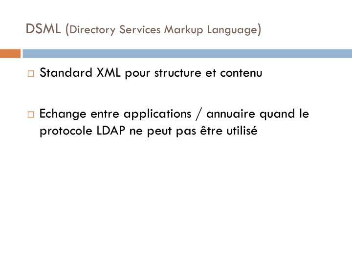 DSML (