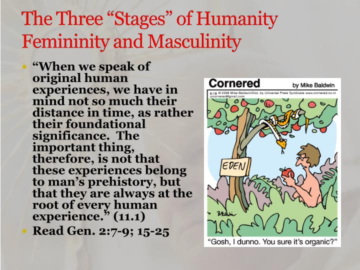 "The Three ""Stages"" of Humanity"