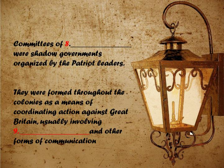 Committees of