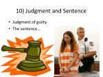 10 judgment and sentence