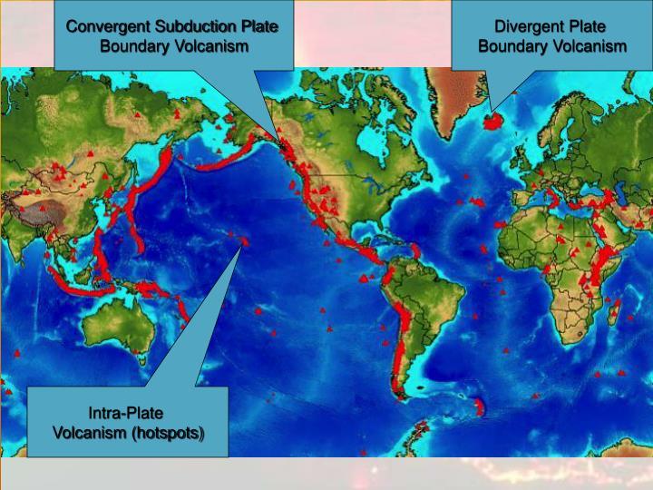 Convergent Subduction Plate