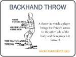 backhand throw