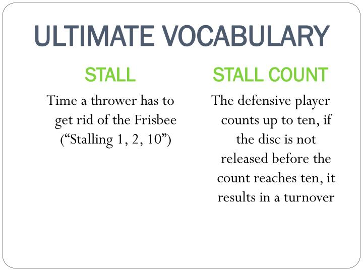 ULTIMATE VOCABULARY