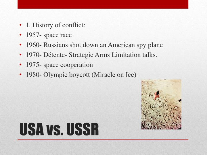 Usa vs ussr