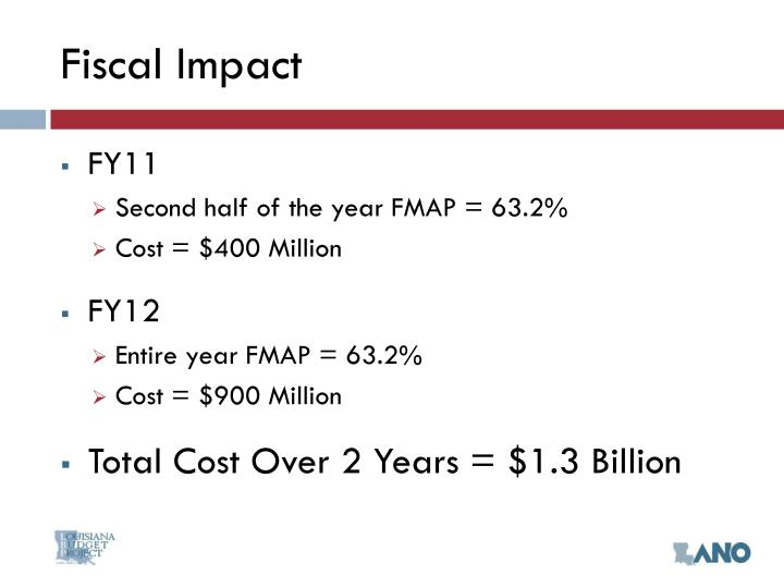 Fiscal Impact