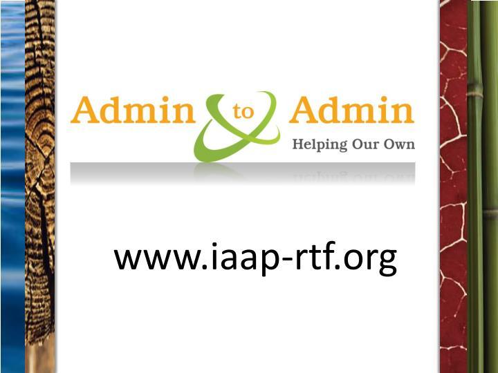 www.iaap-rtf.org