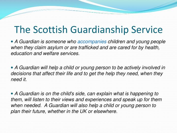 The Scottish Guardianship Service