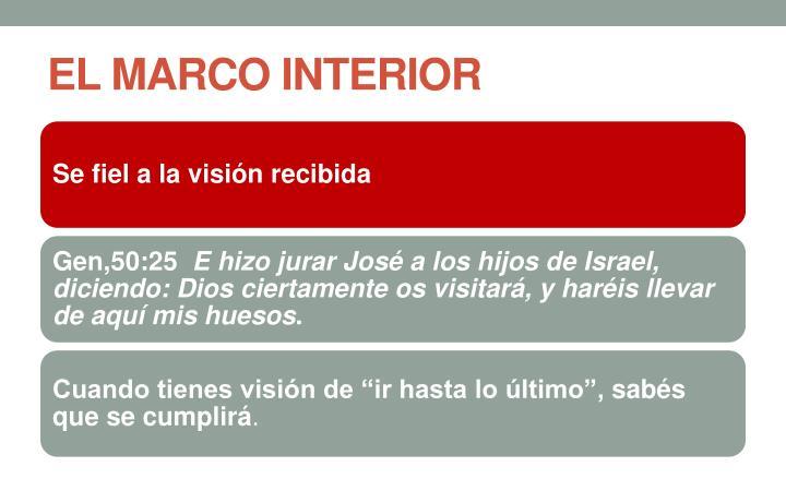 EL MARCO INTERIOR