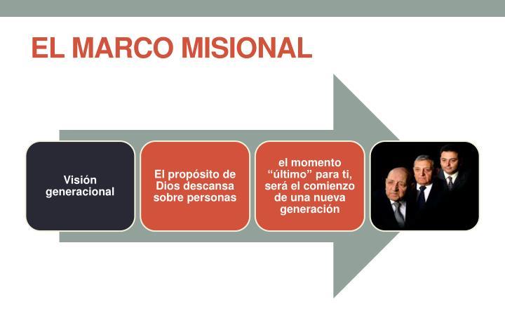 EL MARCO MISIONAL