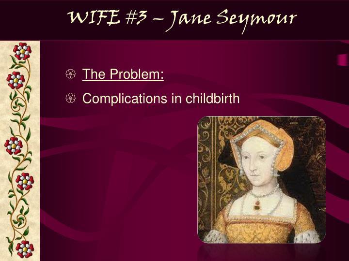 WIFE #3 – Jane Seymour