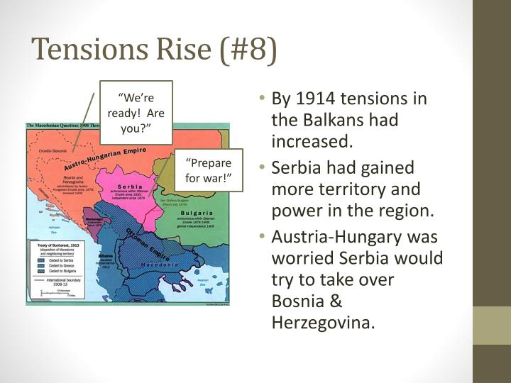 Tensions Rise (#8)
