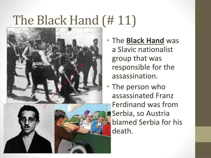 The Black Hand (# 11)