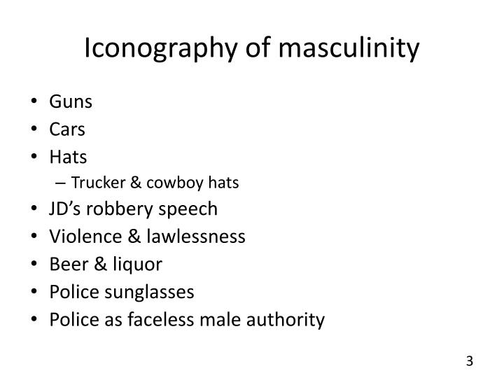 Iconography of masculinity