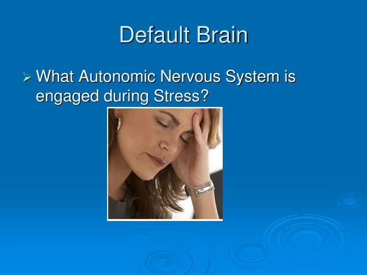 Default Brain