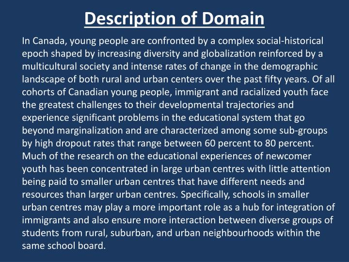 Description of Domain