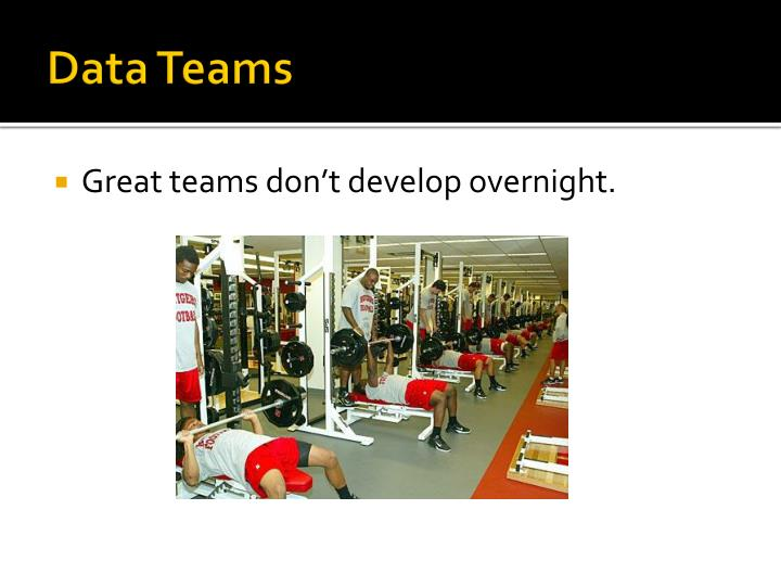 Data Teams