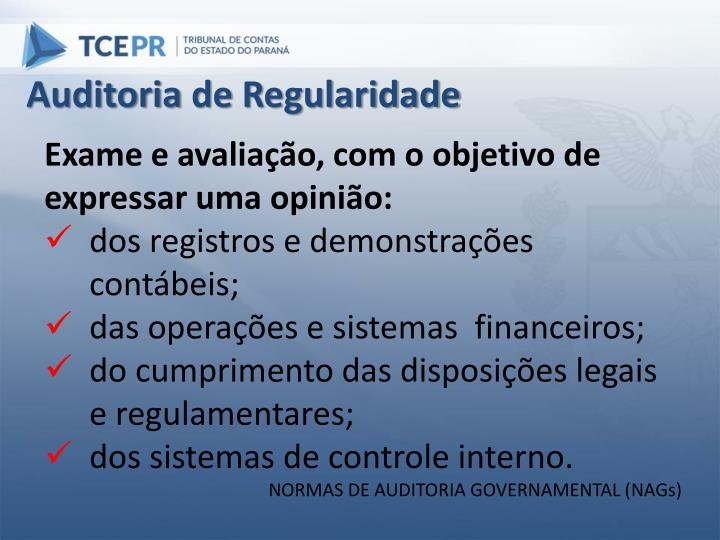 Auditoria de Regularidade