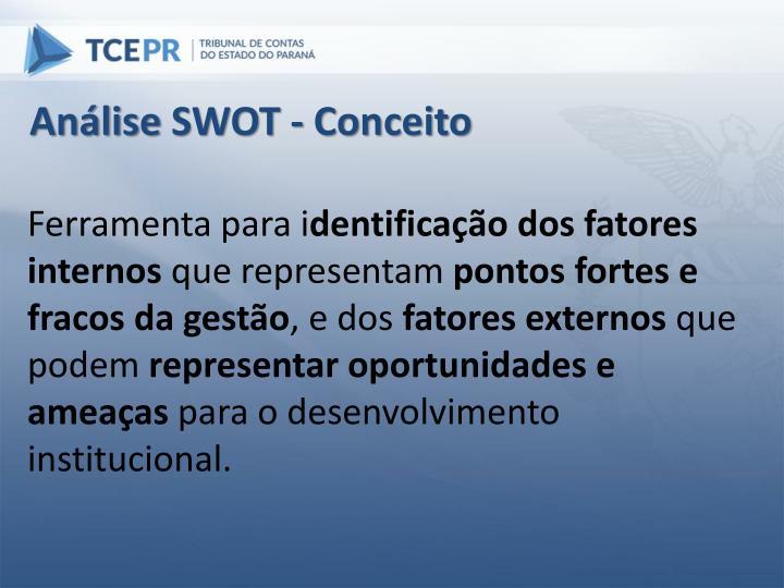Análise SWOT - Conceito