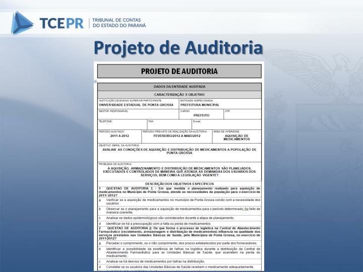 Projeto de Auditoria