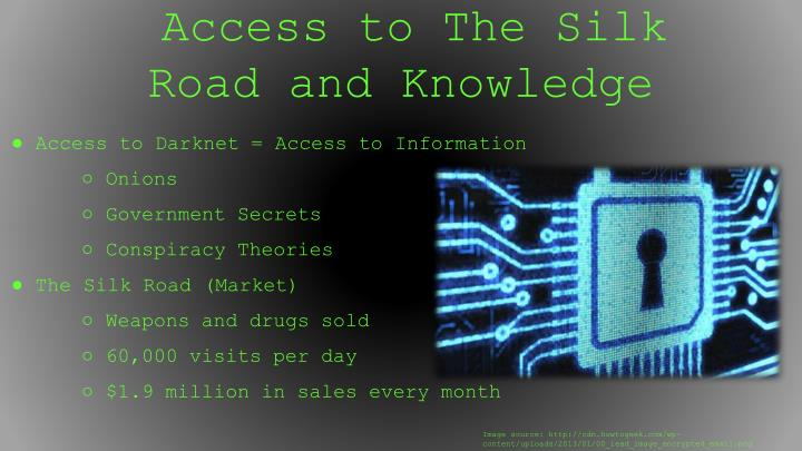 Access to The Silk Road and Knowledge