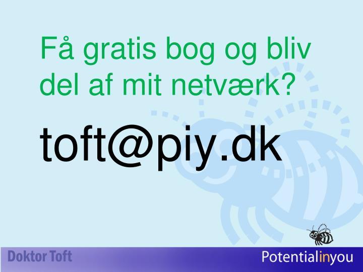 Få gratis bog og bliv del af mit netværk?