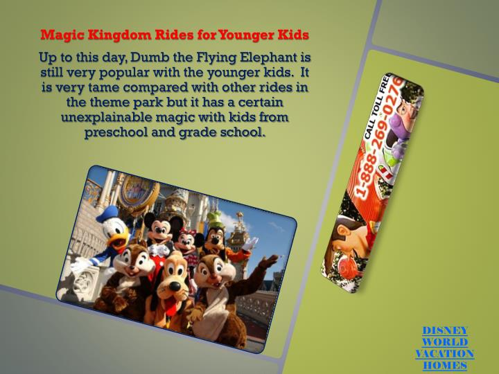 Magic Kingdom Rides for Younger Kids