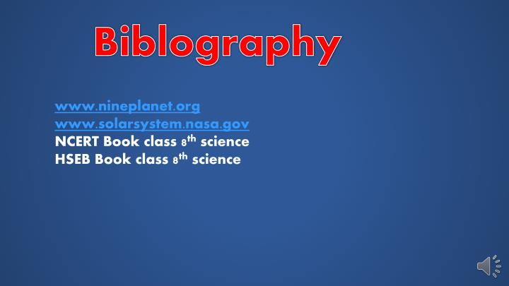 Biblography