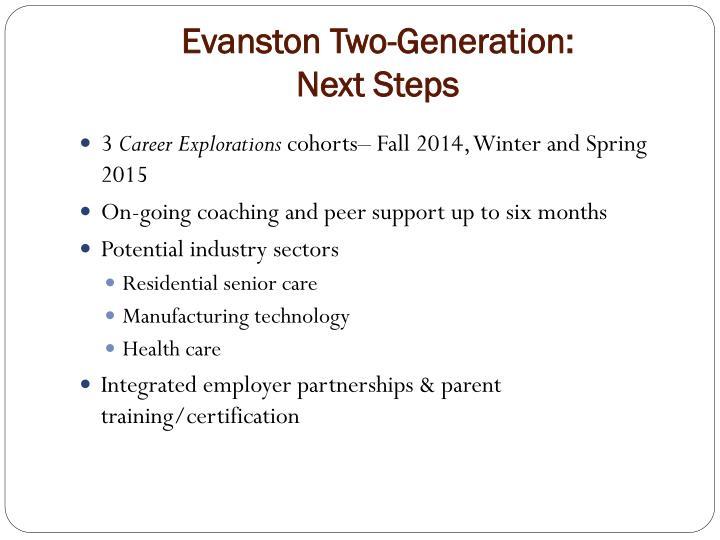 Evanston Two-Generation: