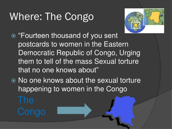 Where: The Congo