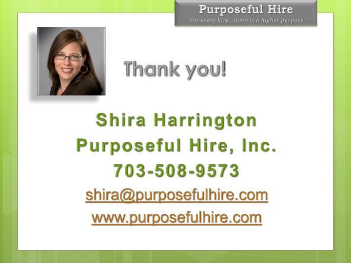 Shira Harrington
