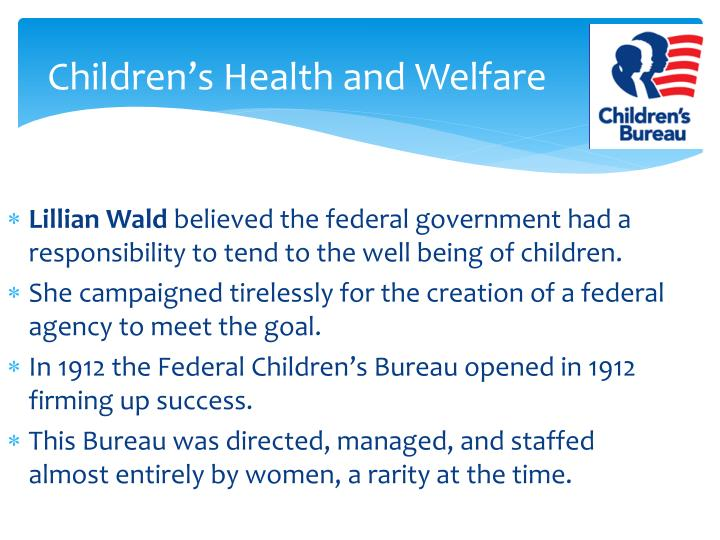 Children's Health and Welfare