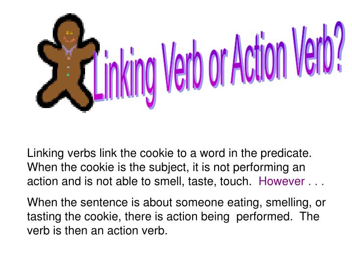 Linking Verb or Action Verb?