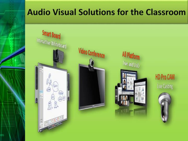 Audio Visual Solutions for the Classroom