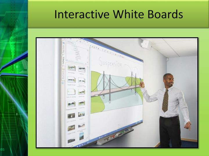 Interactive White Boards
