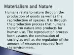 materialism and nature3