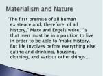 materialism and nature4