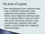 the rule of capital14