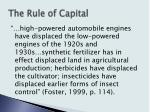 the rule of capital15