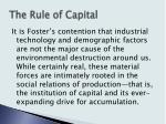 the rule of capital2