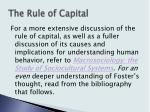 the rule of capital20