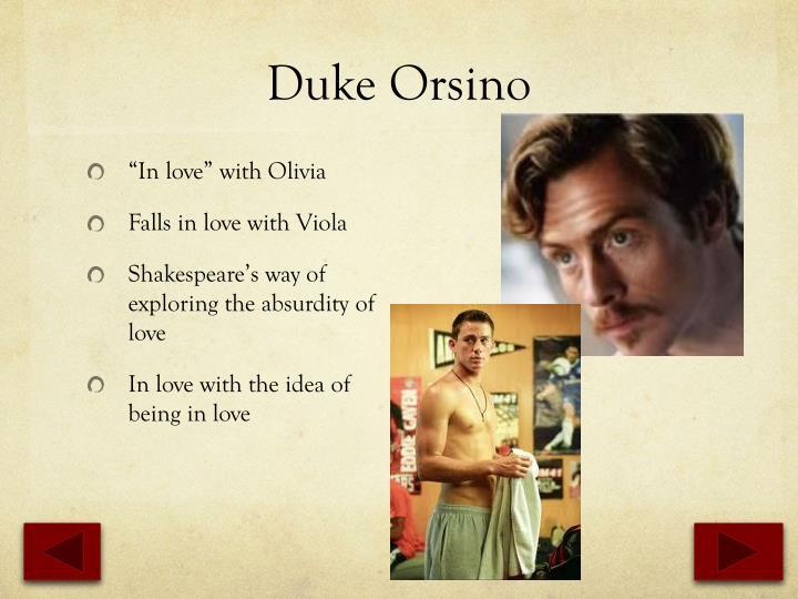 Duke Orsino