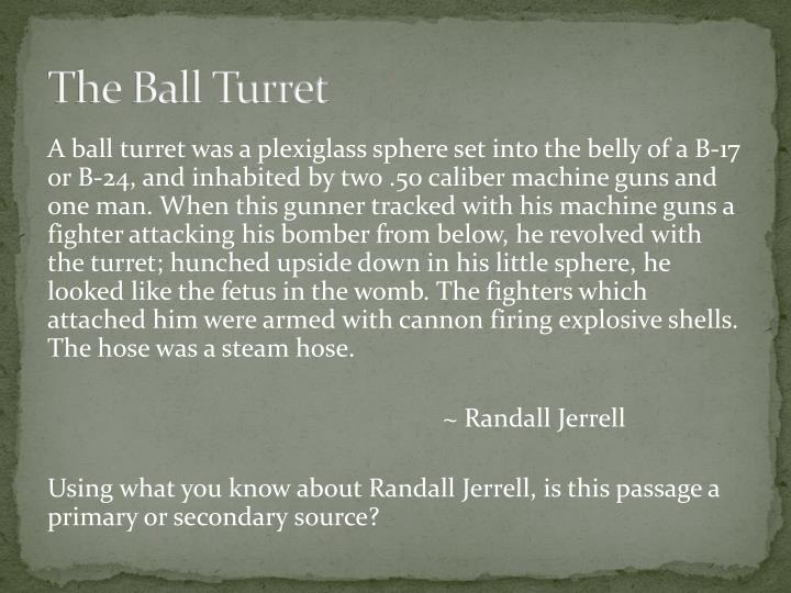 The Ball Turret