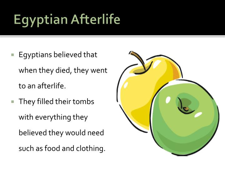 Egyptian Afterlife
