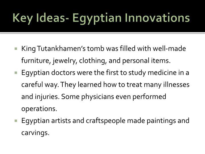 Key Ideas-