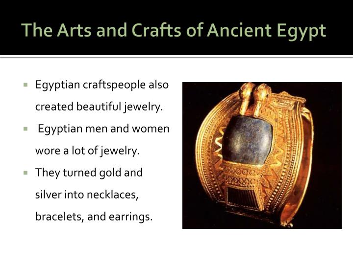 The Arts and Crafts of Ancient