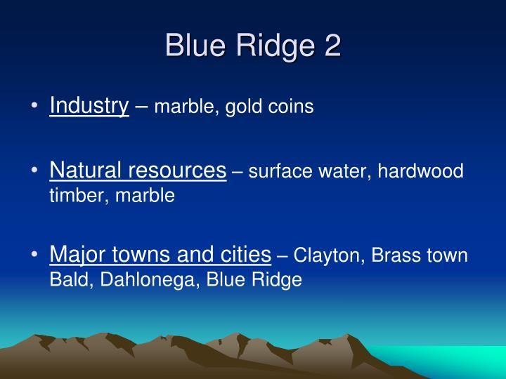 Blue Ridge 2