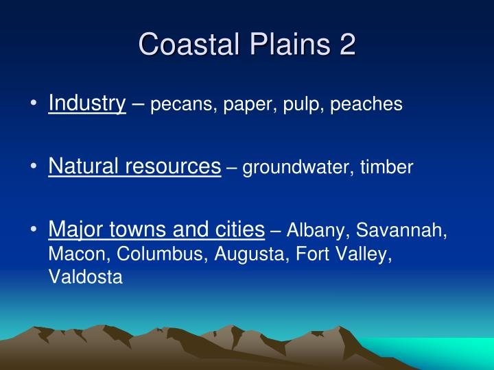 Coastal Plains 2